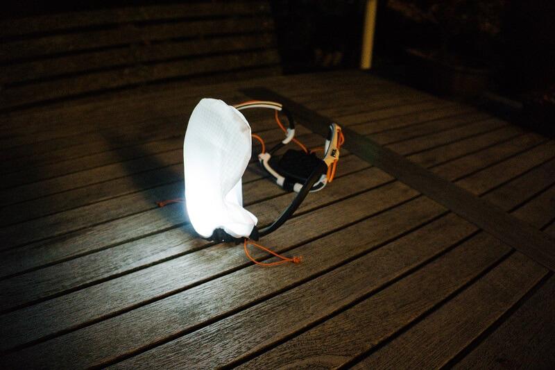 Produkttest Petzl IKO Core Stirnlampe als Zelt-Laterne   campz.de