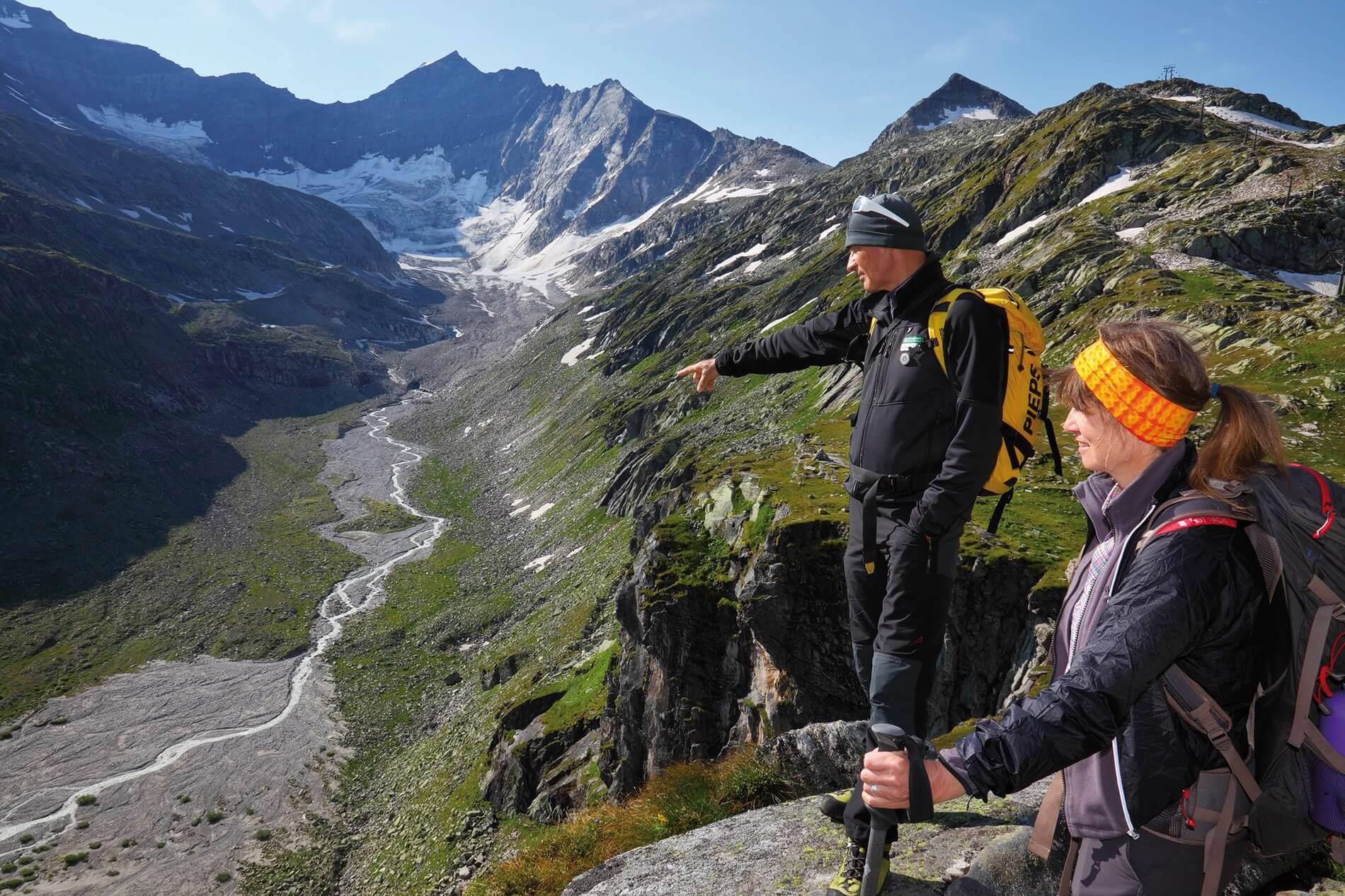 Hüttenwanderung Großglockner-Runde, Österreich