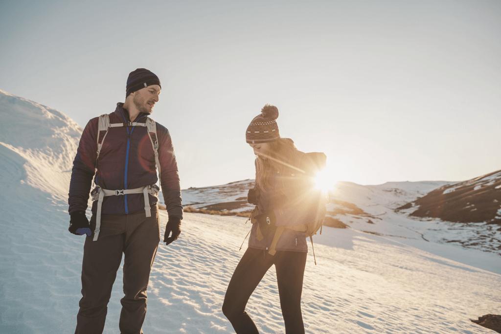 Wie man im Winter natürlich Gewicht verliert