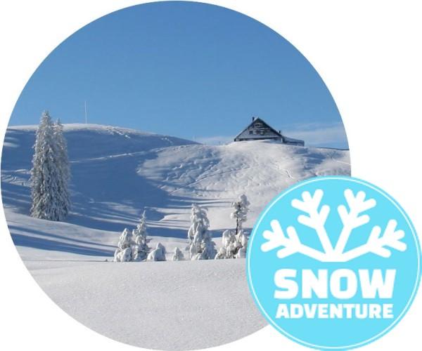 Schneeschuh-Hütten-Tour
