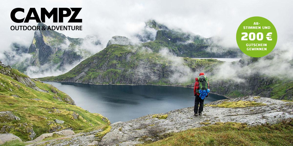 CAMPZ Top Outdoorblog 2019 - Wandern weltweit