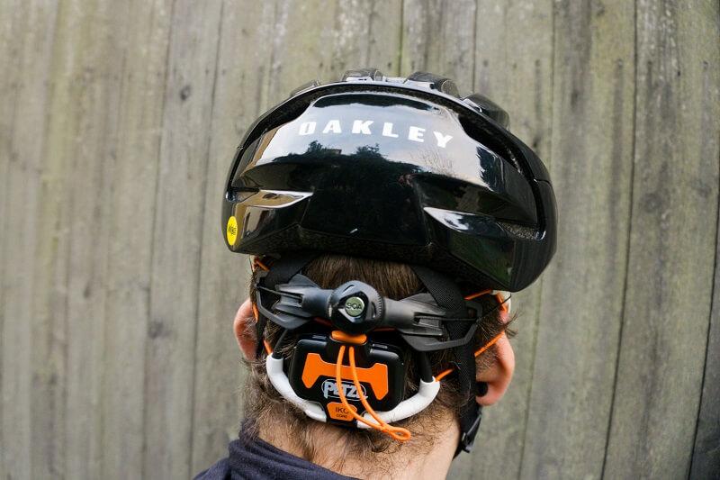 Produkttest Petzl IKO Core Stirnlampe - Einsatz beim Fahrradfahren