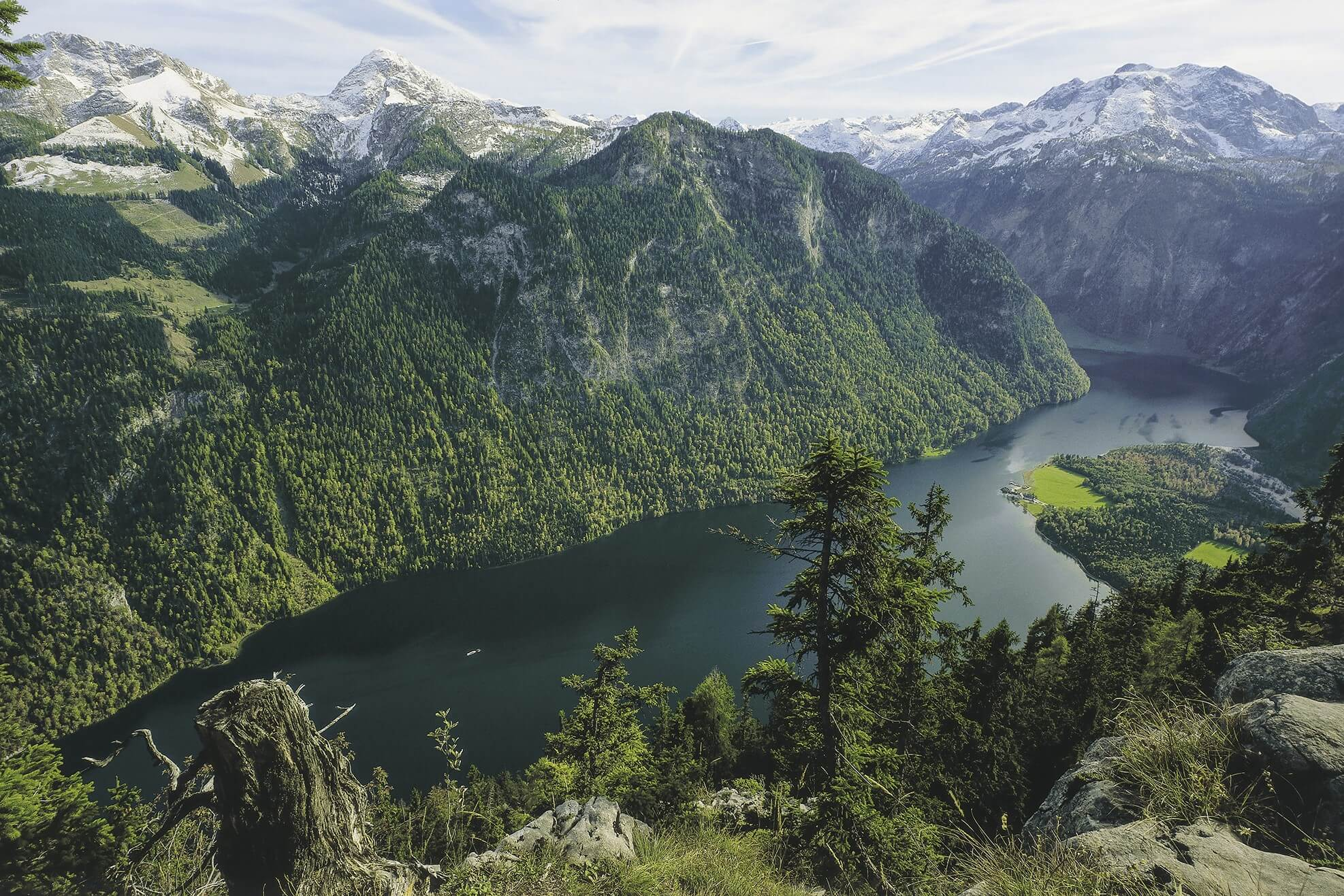Nationalpark Berchtesgaden - Panorama Königssee