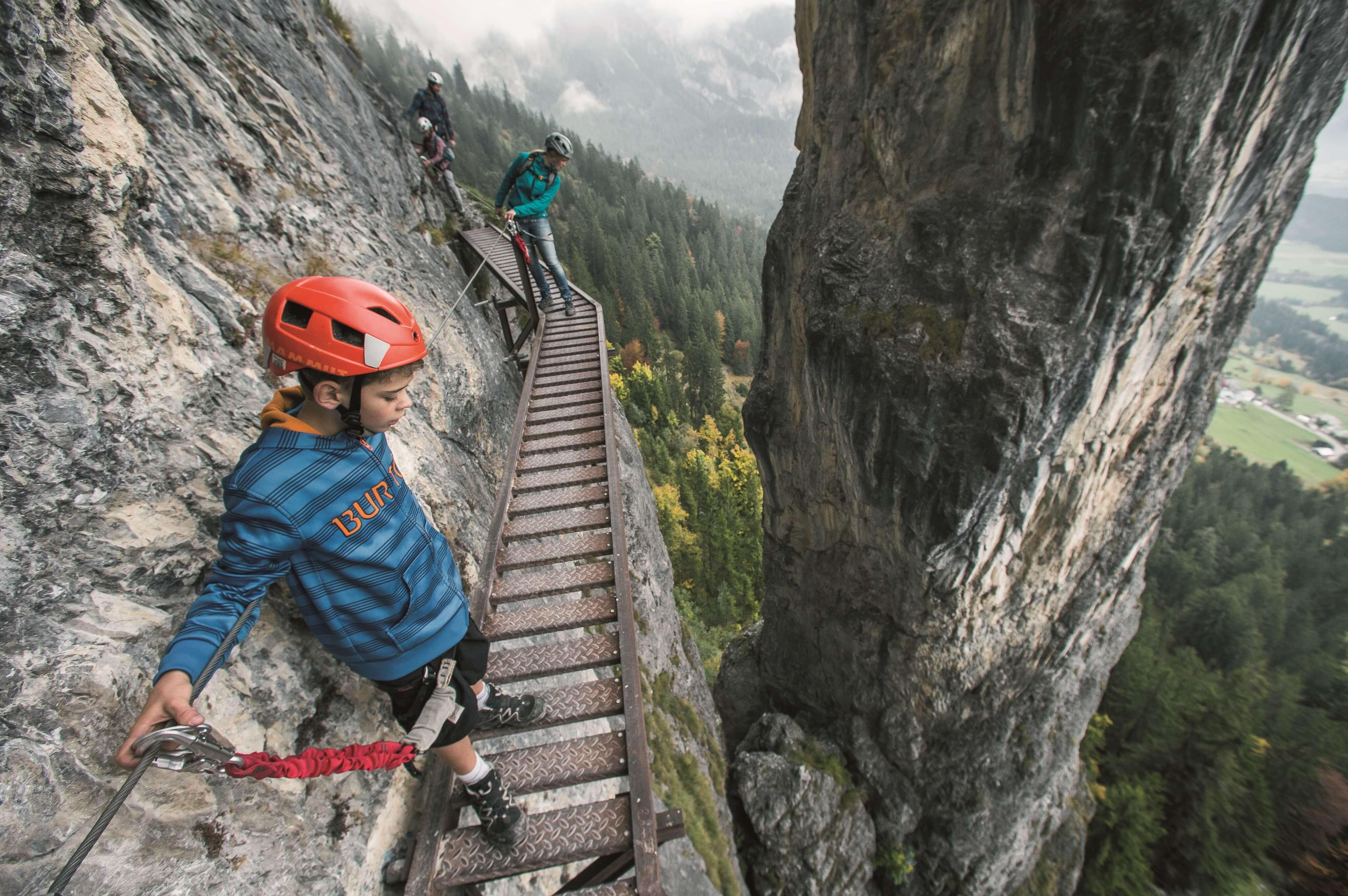 Klettersteig Pinut, Graubünden