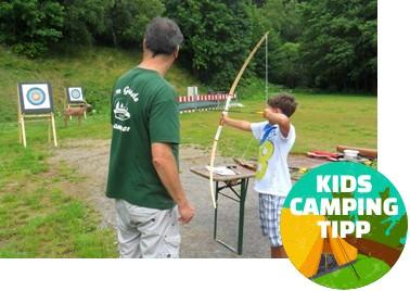 Kids Camping Tipp - Waldcampingplatz Meyersgrund