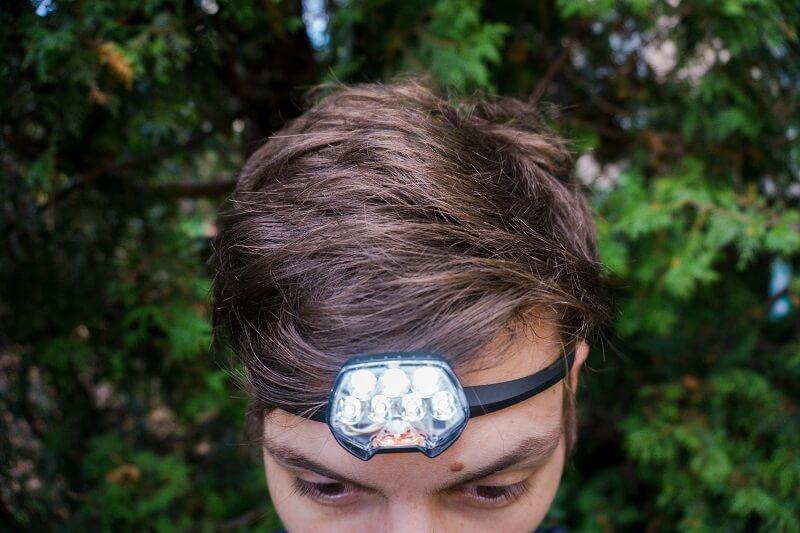Produkttest Petzl IKO Core Stirnlampe Ansicht vorne