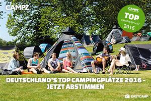 Banner zur Campingplatzwahl 2016