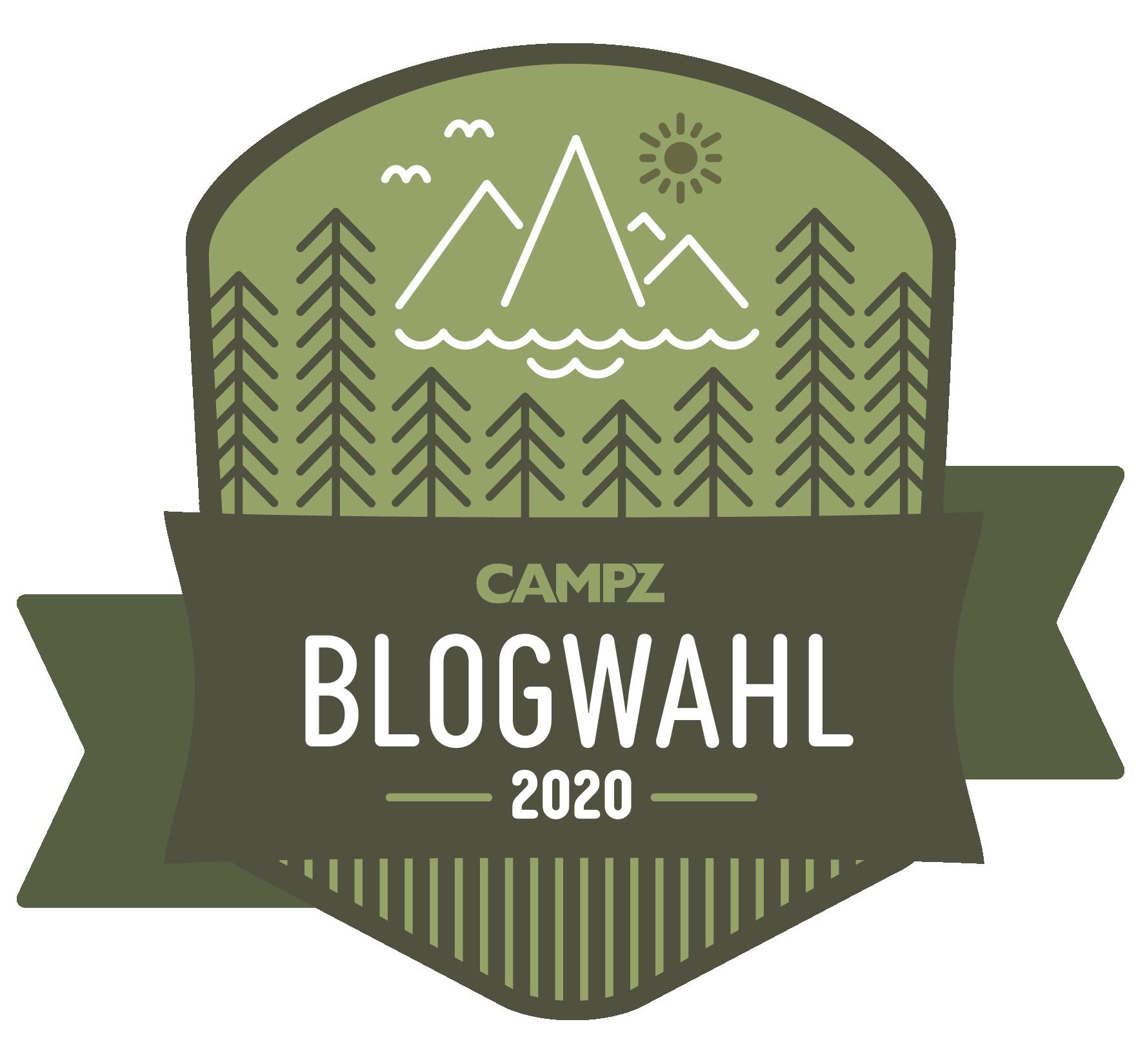 CAMPZ Blogwahl  - Top Outdoorblog 2020