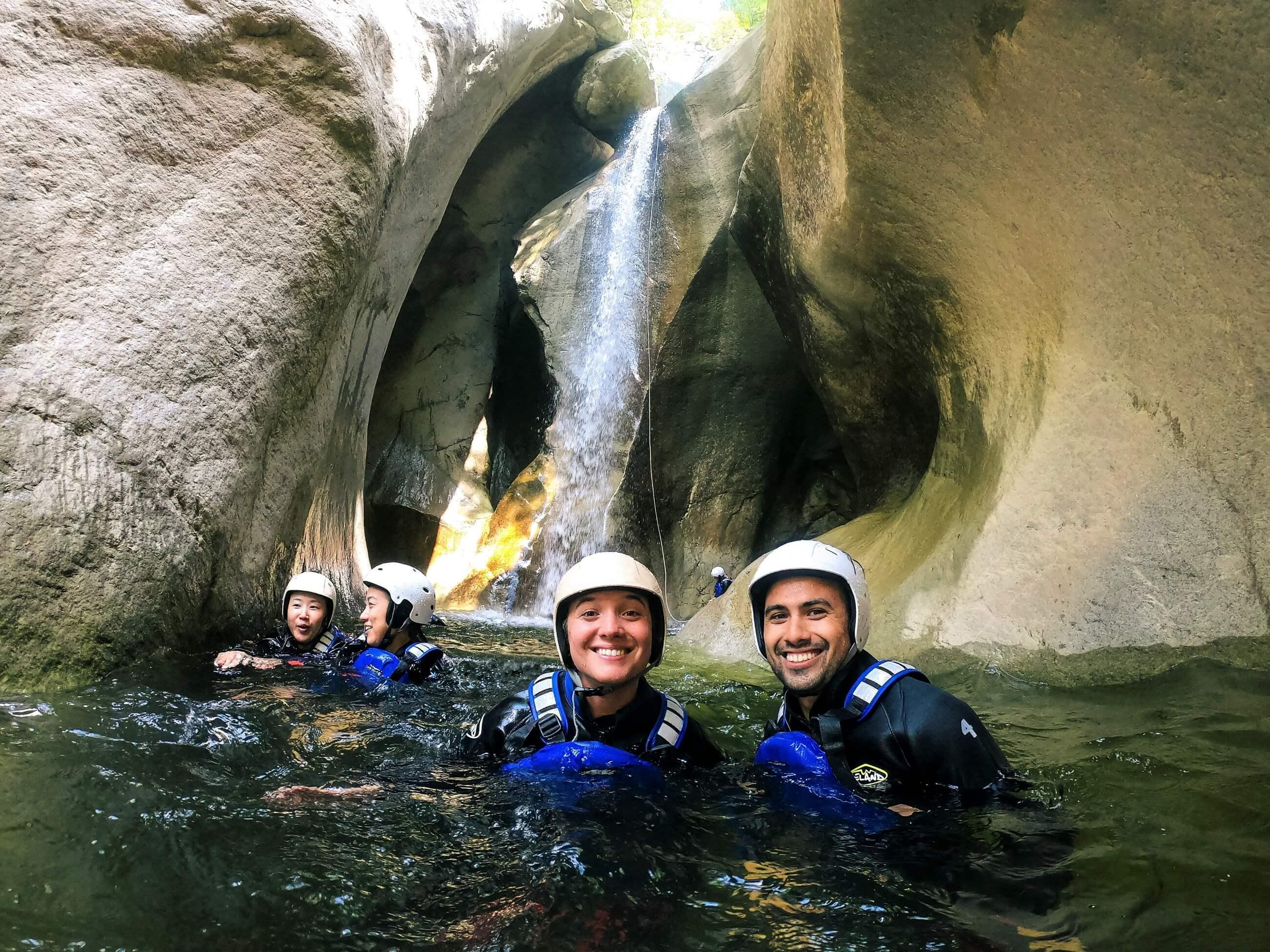 Canyoning Tour im Berner Oberland bei Interlaken