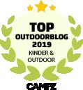 Siegel Top Outdoorblog Kinder & Outdoor 2019