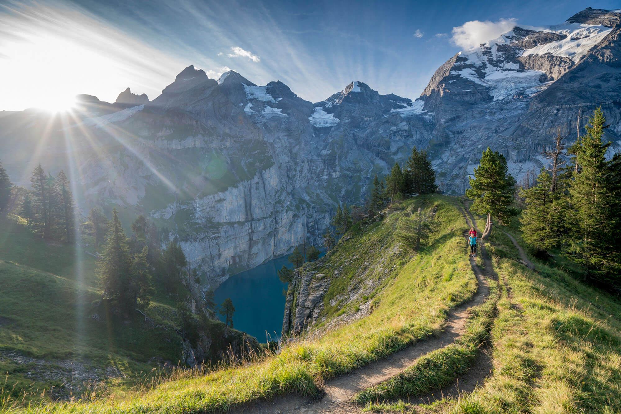 Fernwanderung Bärentrek im Berner Oberland