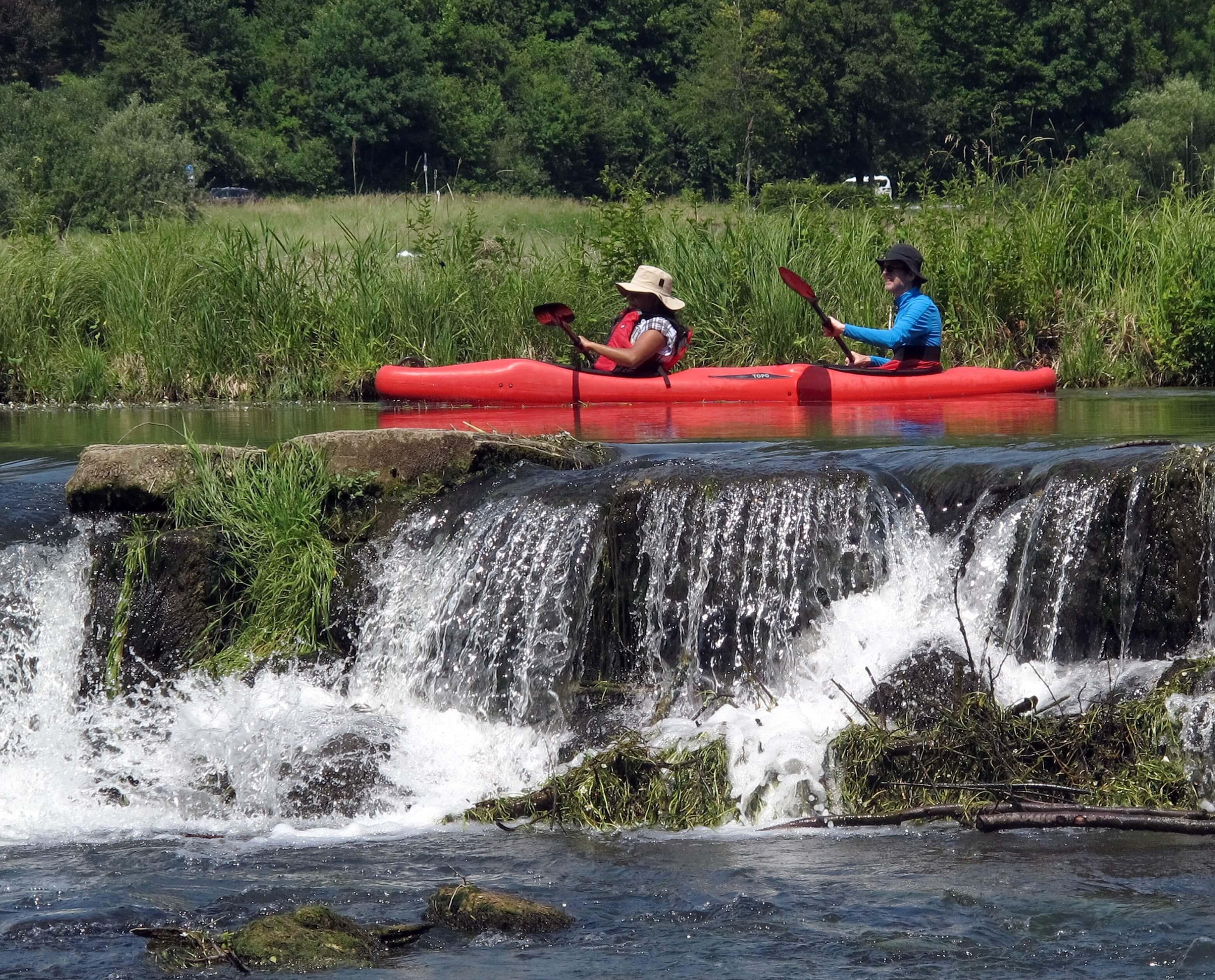 Kajaktour: Auf der Wasserwanderstrecke Main