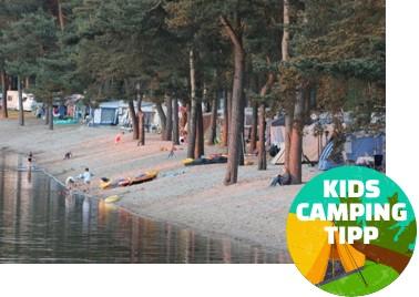 Kids Camping Tipp - Erholungsanlage HERTHA-SEE