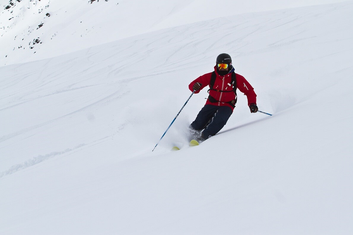 Powder Action beim Freeride Camp in Dachstein