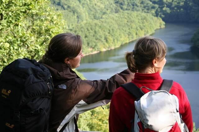 Nationalpark Eifel - Blick von der Hirschley