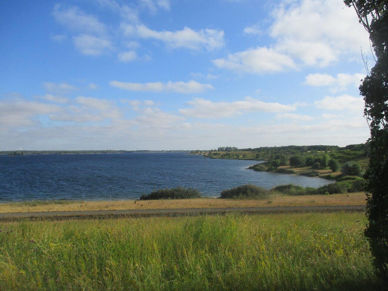 Bikepacking Tour zur Ostsee - Werbeliner See