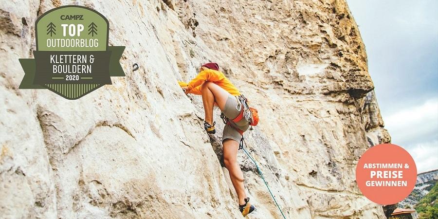 CAMPZ Blogwahl 2020 - Kategorie »Klettern & Bouldern«