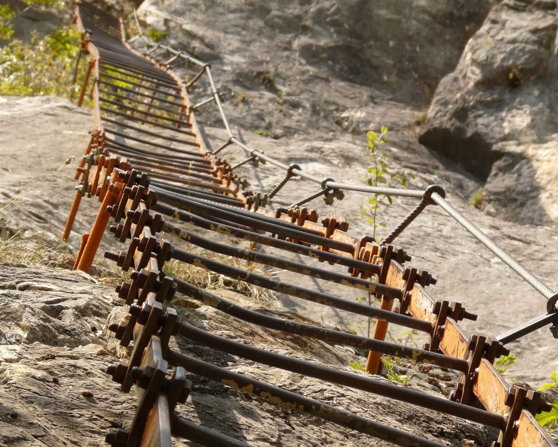 Klettersteig Eisen