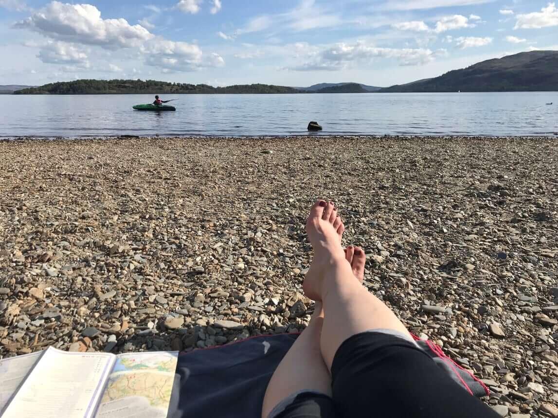 West Highland Way - Tag 2 - Sallochy Camping