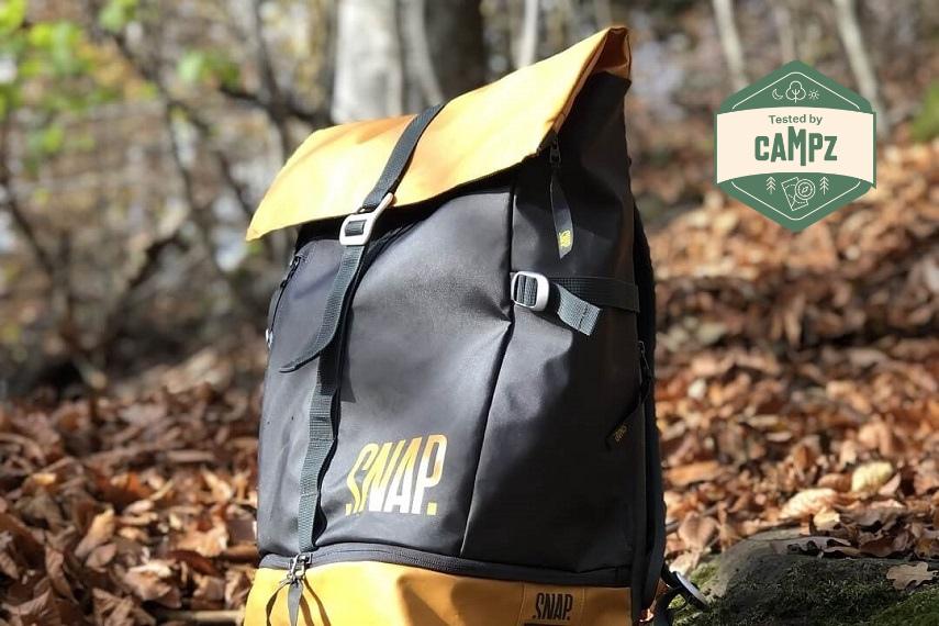 Snap Roll Top – Ein durchdachter, stylischer Rucksack zum Klettern und mehr