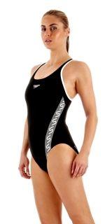 Sportlicher Badeanzug von Speedo in Schwarz