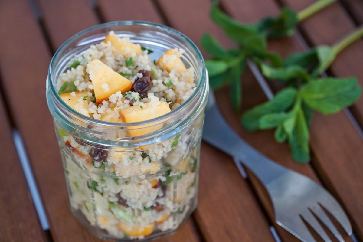 Campingküche Rezept Couscous-Salat