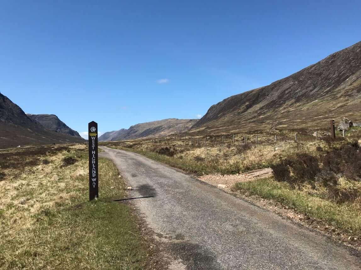 West Highland Way - Tag 6 - Von Inveroran nach Kinlochlevan