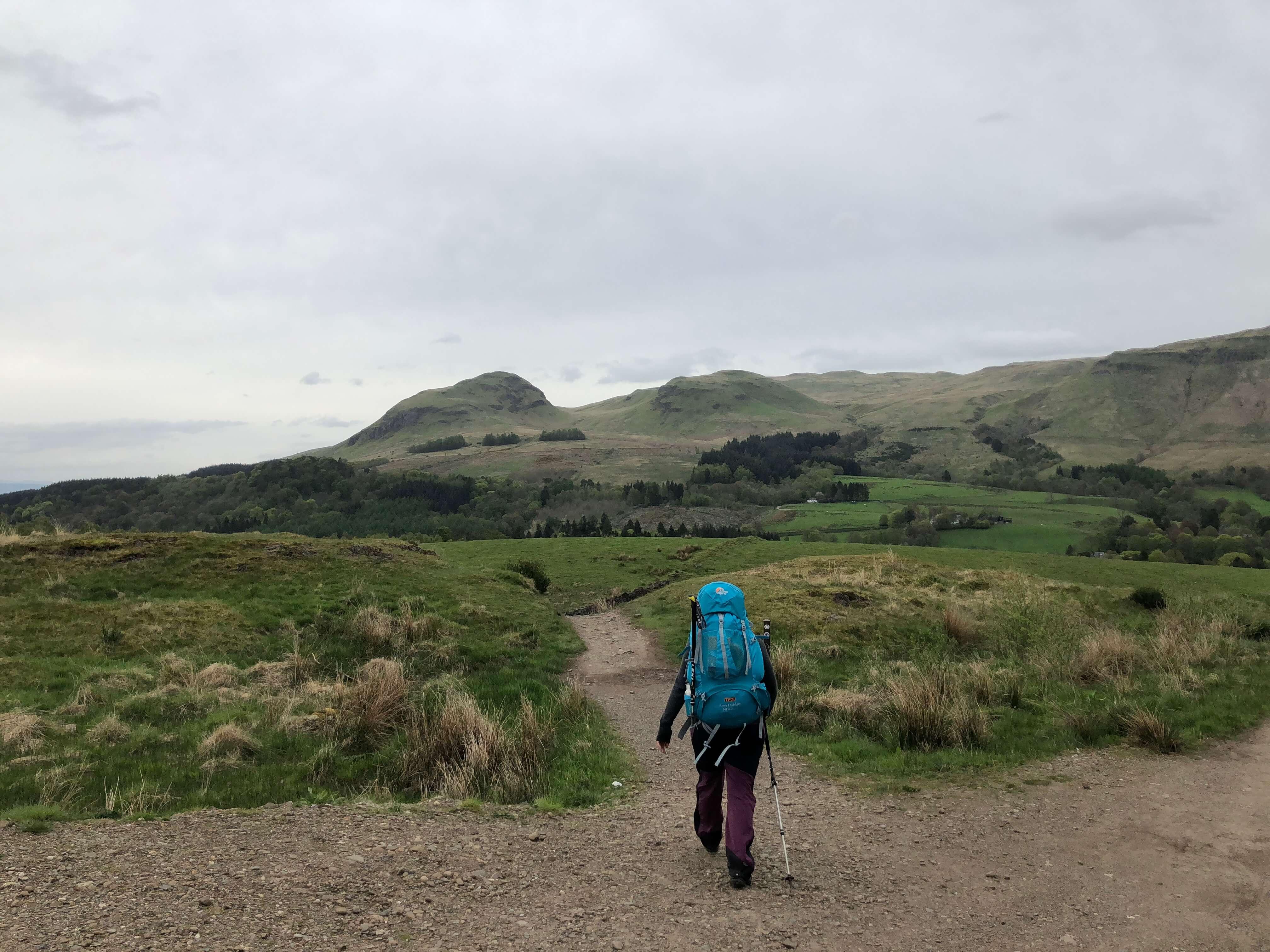 West Highland Way - Tag 1 - Von Milngavie nach Drymen