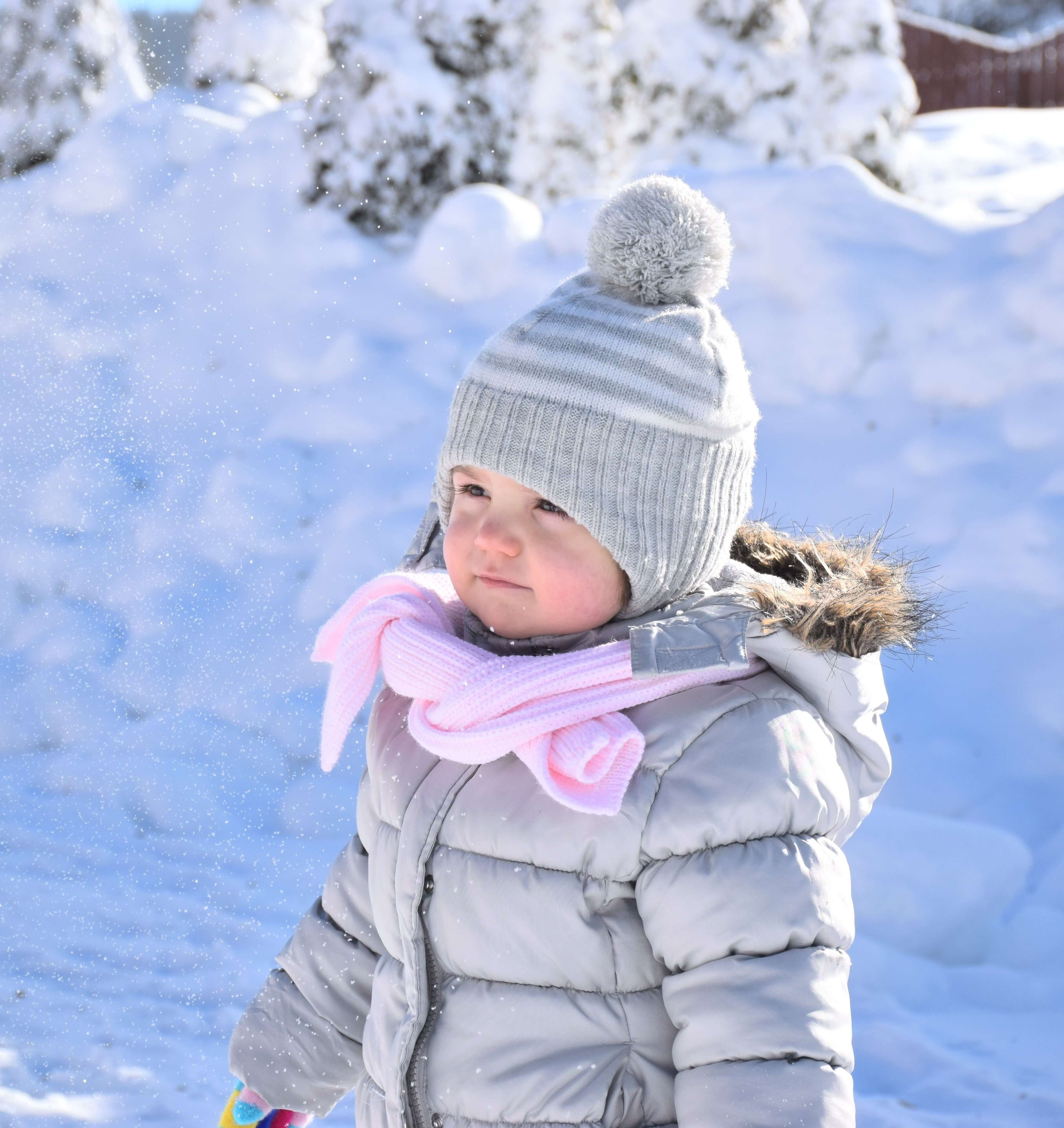 Funktionelle Winterbekleidung für Kinder - Mädchen