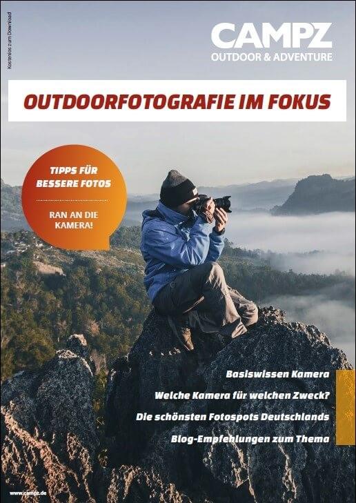 Cover des Guides - Outdoorfotografie im Fokus