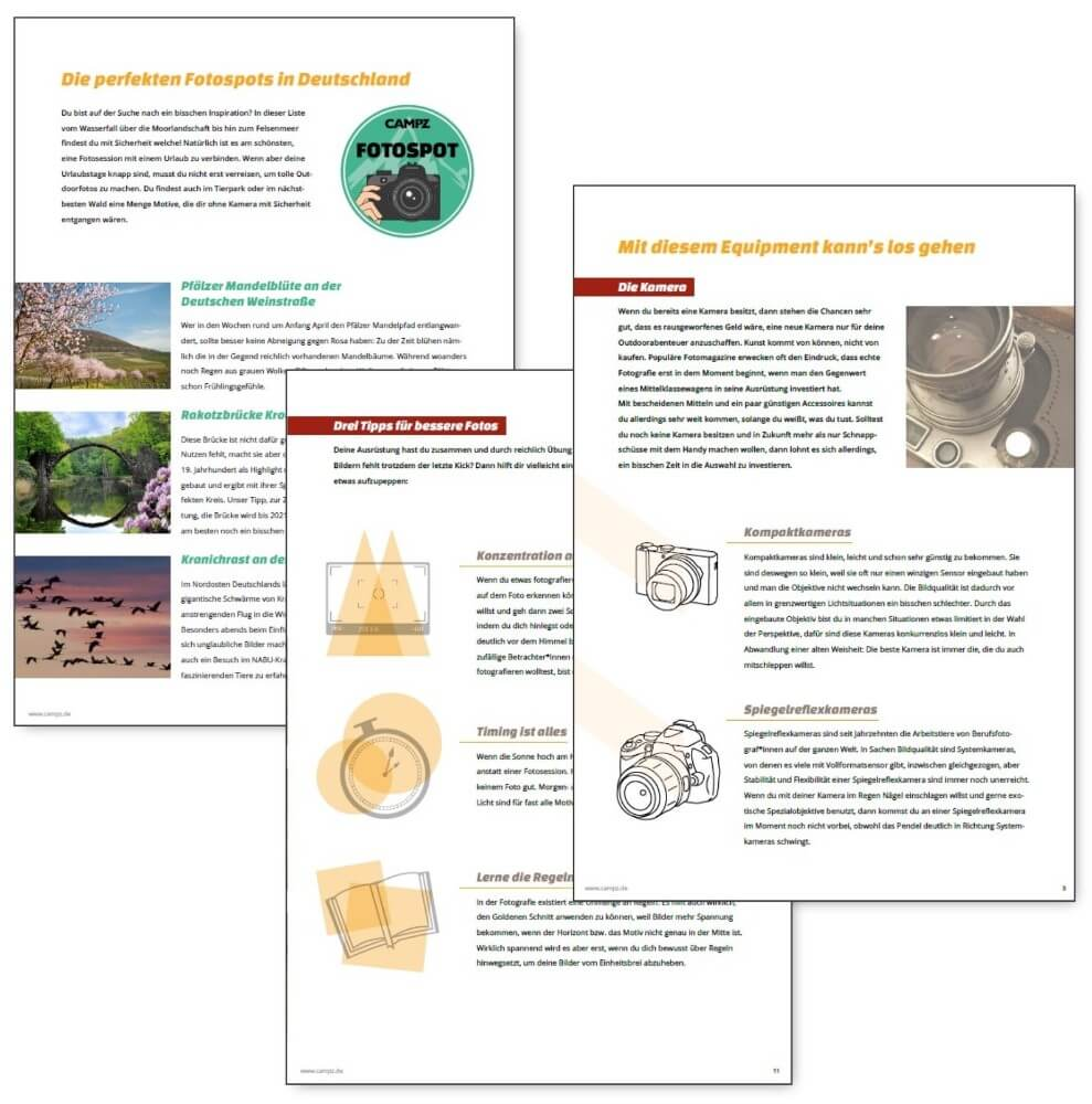 Vorschau PDF-Guide Outdoorfotografie