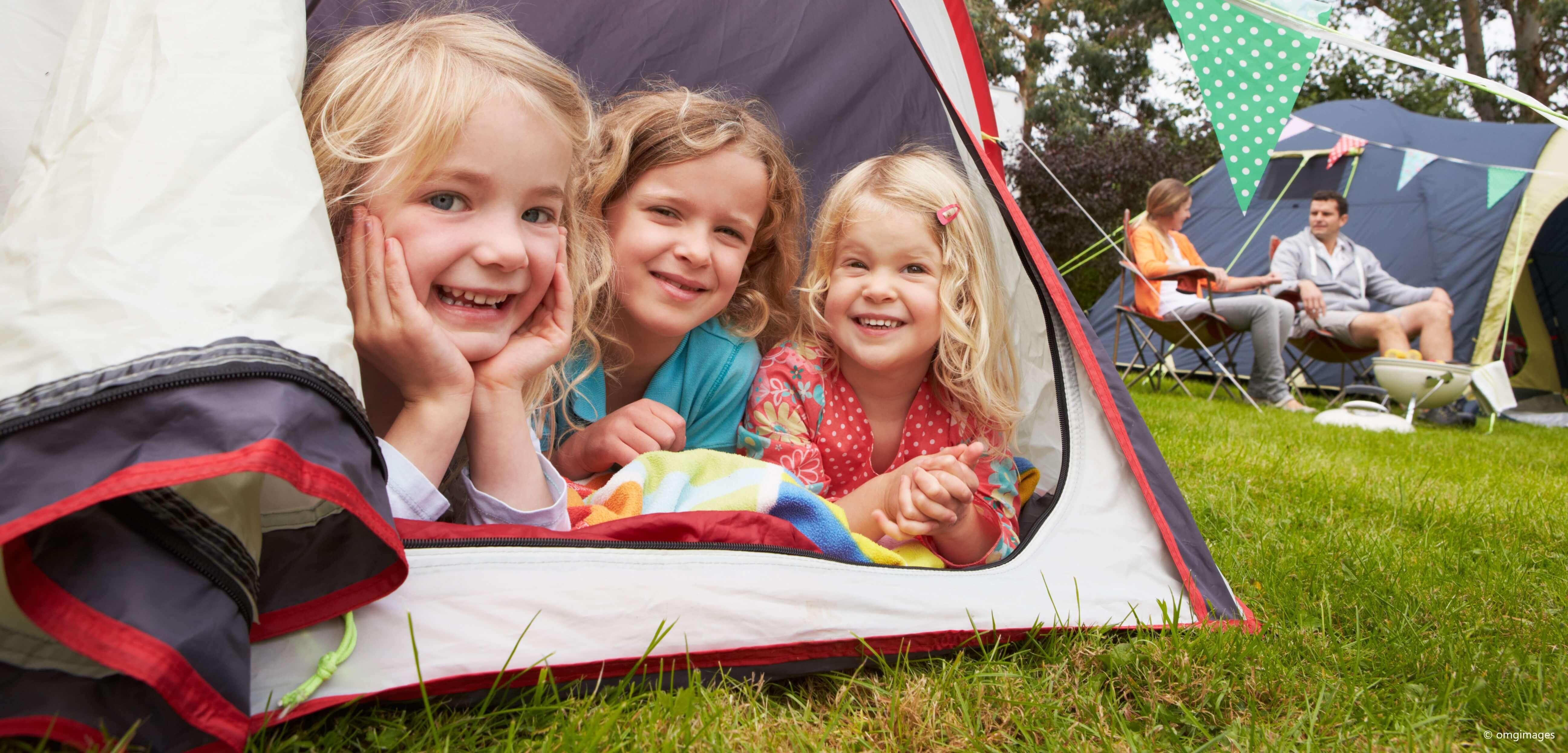 Camping mit Kids