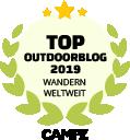 Siegel Top Outdoorblog Wandern Weltweit 2019
