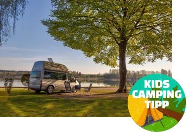 Kids Camping Tipp - Strandcamping Waging