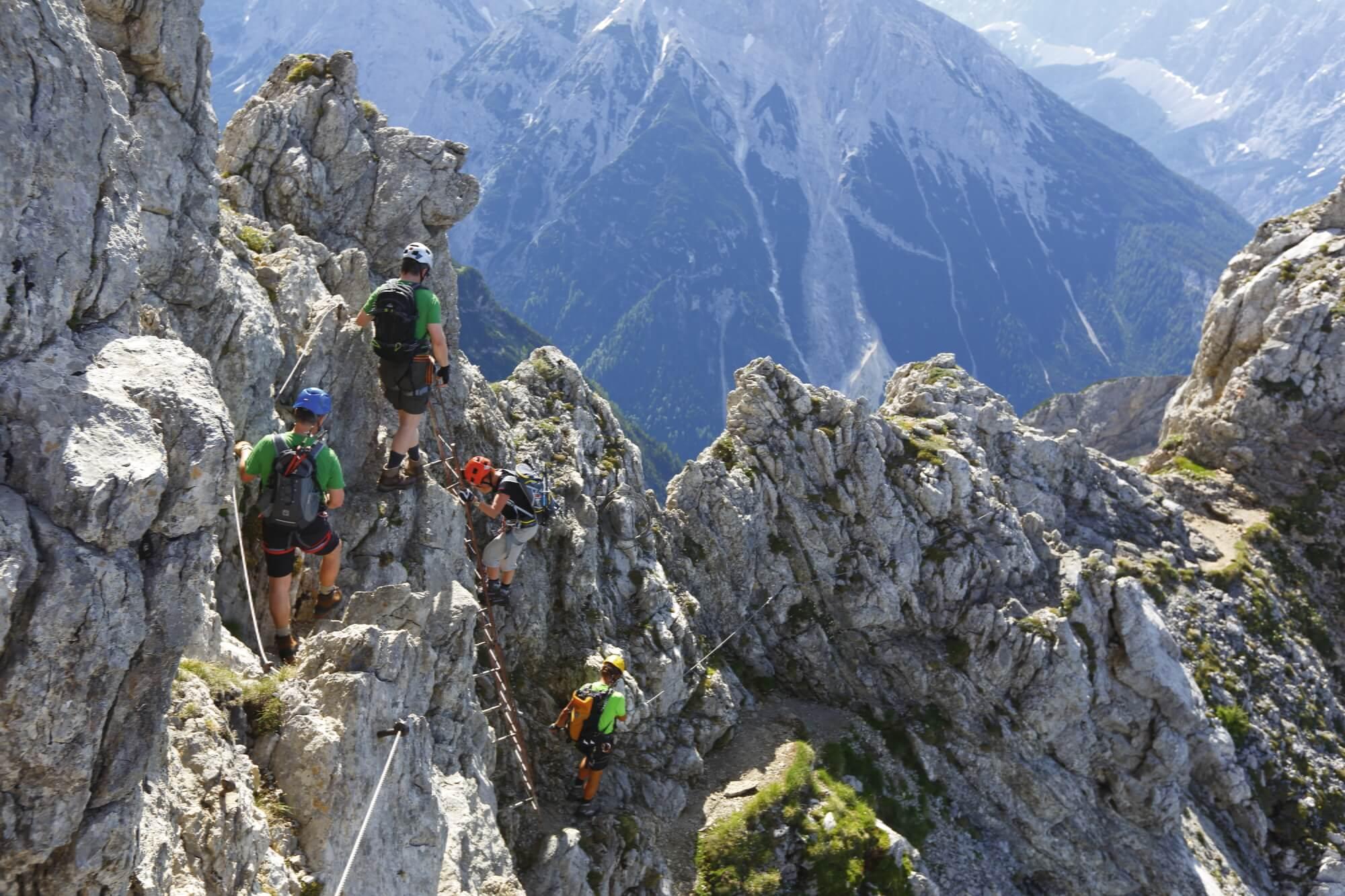 Mittenwalder Höhenweg, Alpenwelt Karwendel