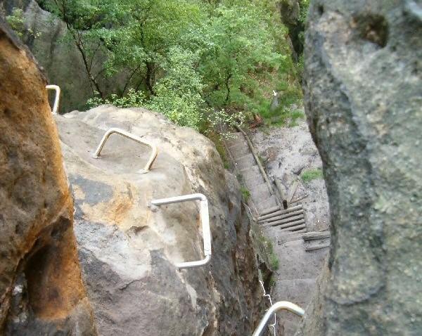 Mini-Abenteuer - Klettersteig gehen