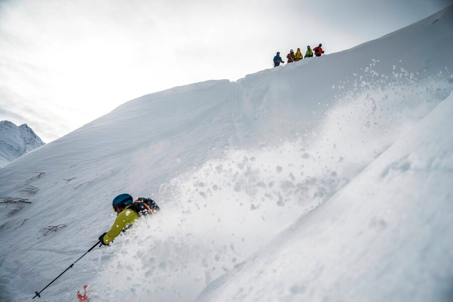Freeride Camp in Andermatt