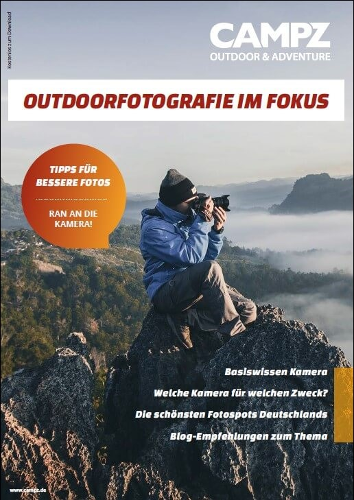 Cover des Guides - Outdoorfotografie im Fokus