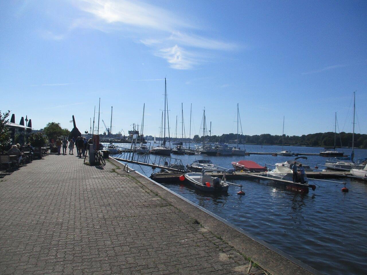 Bikepacking Tour zur Ostsee - In Rostock