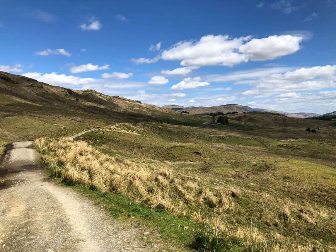 West Highland Way - Tag 4 - Von Inverarnan nach Tyndrum