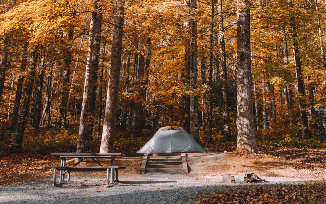 Camping in den kälteren Jahreszeiten
