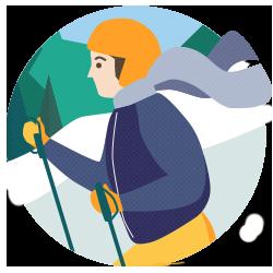 Langlauf lernen: Guide für Anfänger