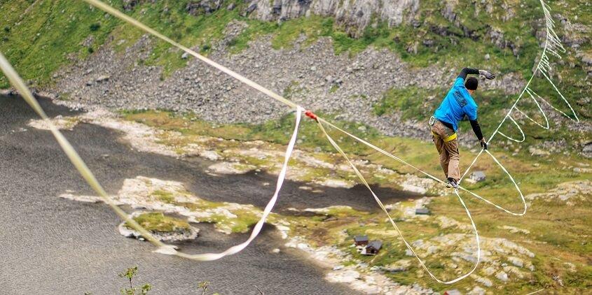Senja Project: Highline World Record