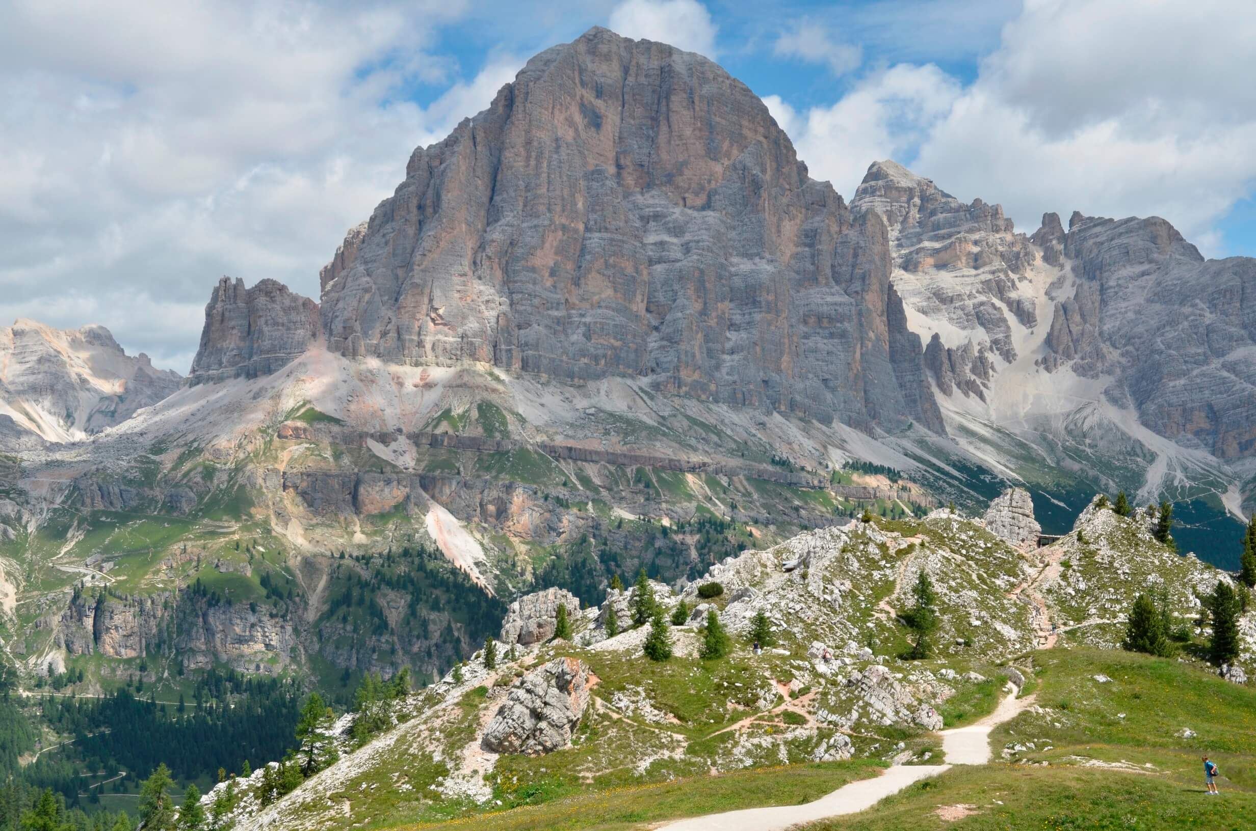 Unterwegs auf dem Dolomiten-Höhenweg Nr. 1 (Alta Via delle Dolomiti n. 1)