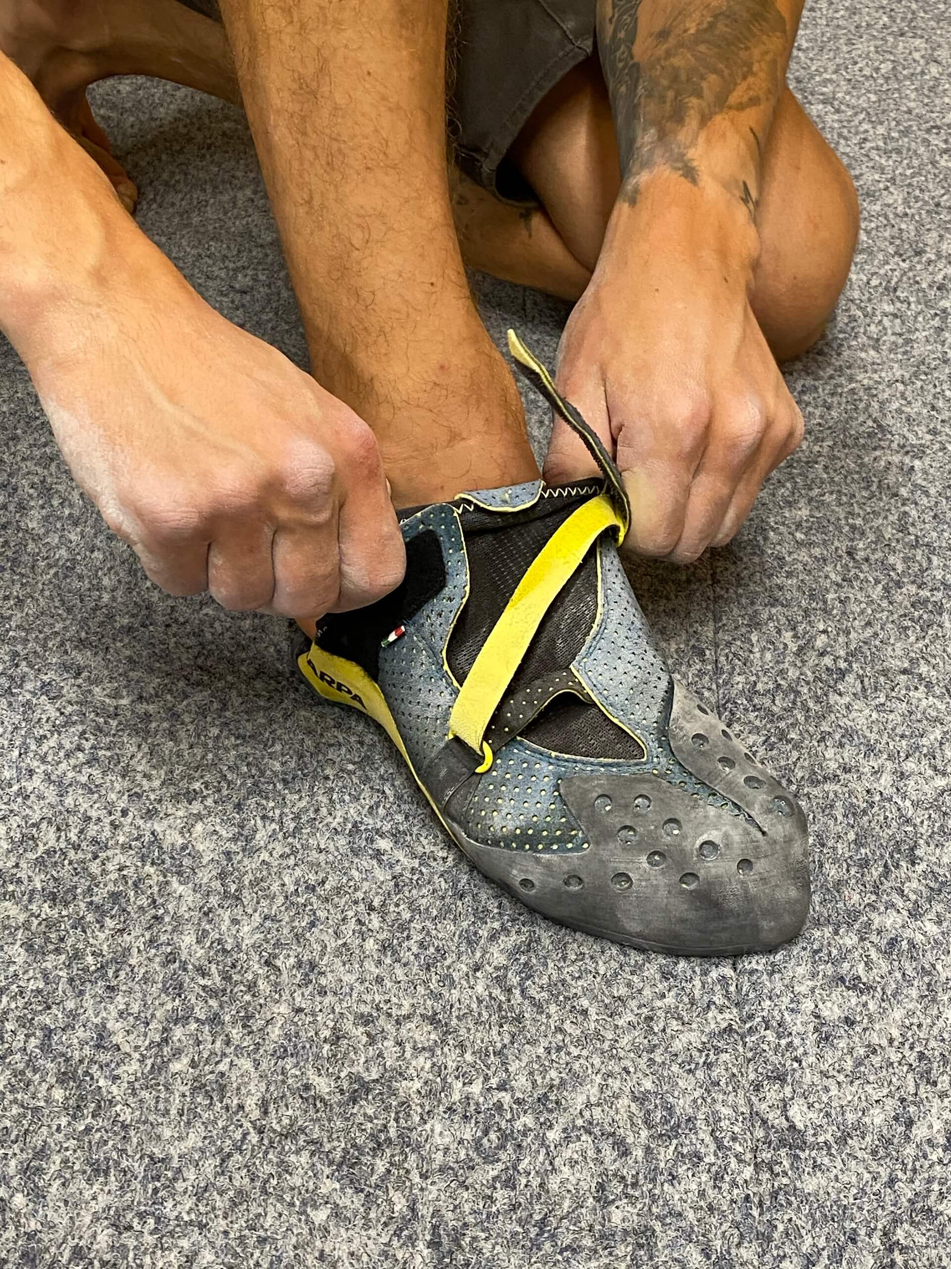 Produkttest Scarpa Furia Air Kletterschuhe