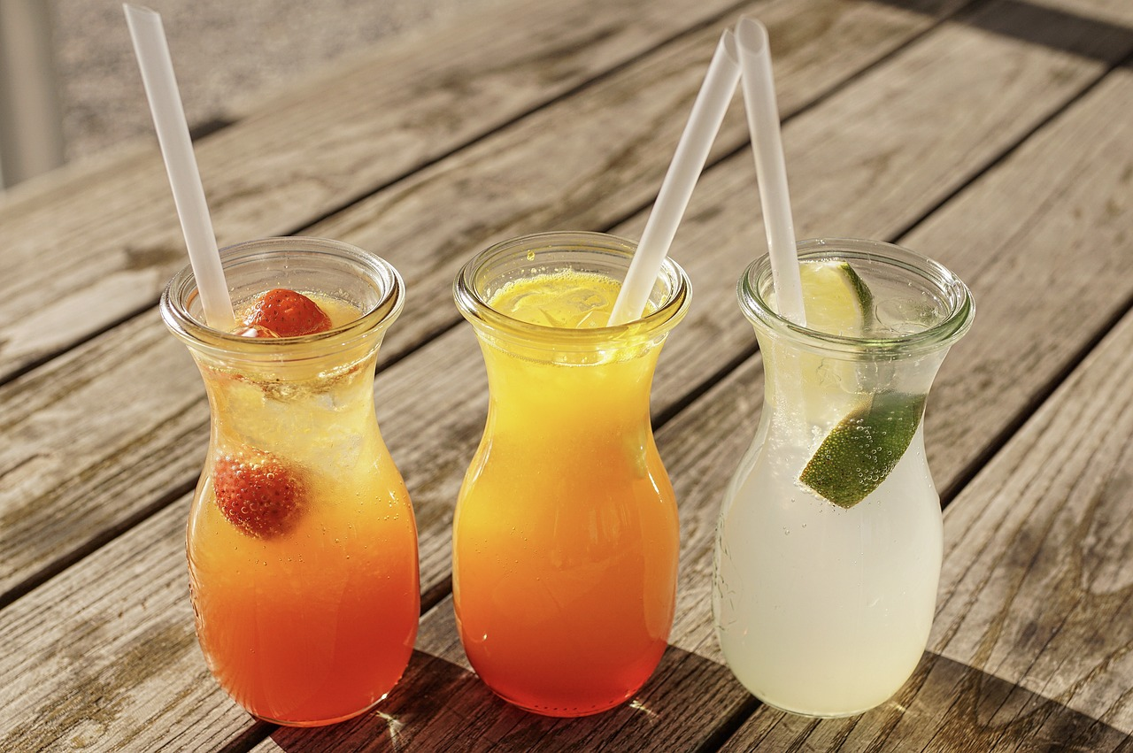 Tipps gegen Hitze: Selbstgemacht Sommerdrinks