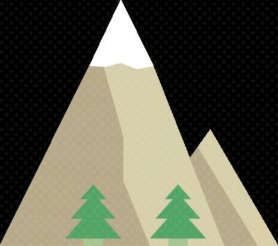 Berg-Illustration