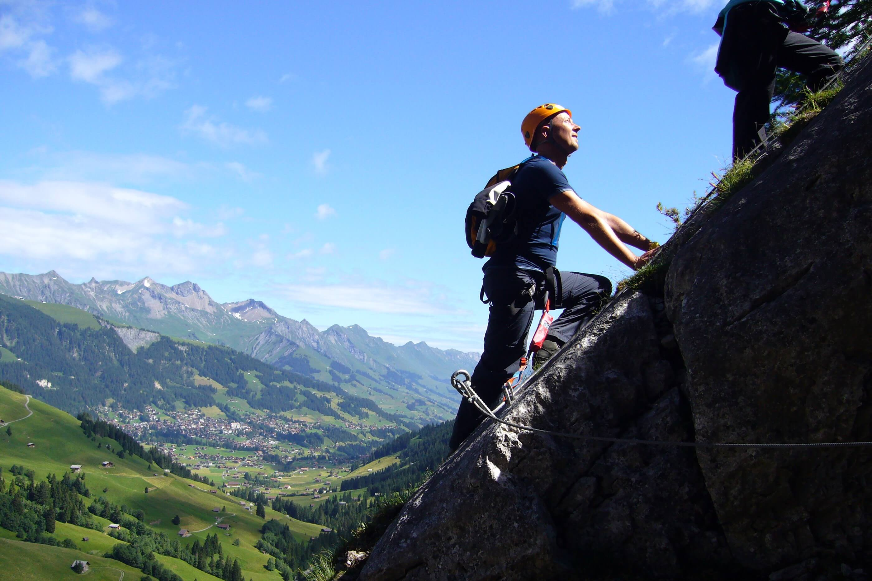 Klettersteig Chäligang, Berner Oberland