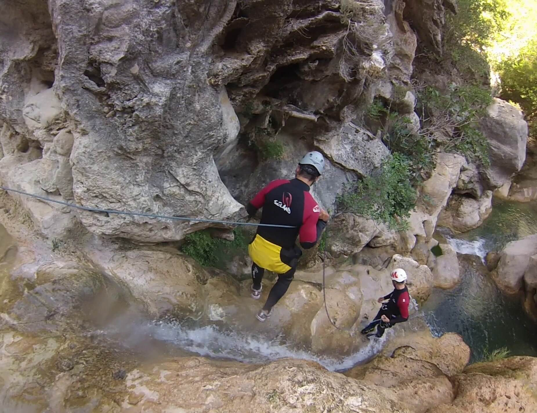 Mini-Abenteuer - Canyoning im Allgäu
