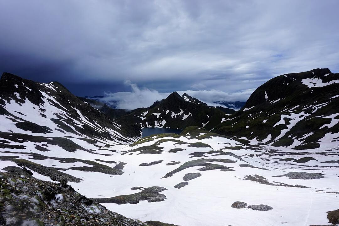 Pfunderer Höhenweg Etappe 2 - letzter Anstieg zur Brixener Hütte